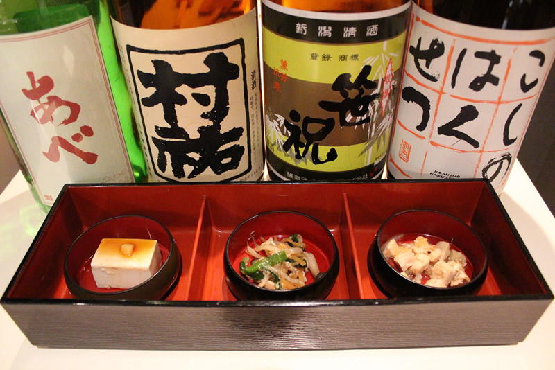ぽん酒ガール 料理