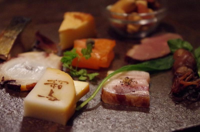 霜鳥 shimotori 料理